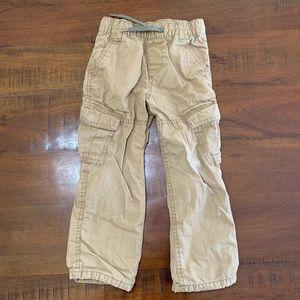 Boy's Baby Gap Cargo Pants - Size 4 Years